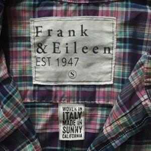 Frank & Eileen  Barry Long Sleeve Plaid. Small